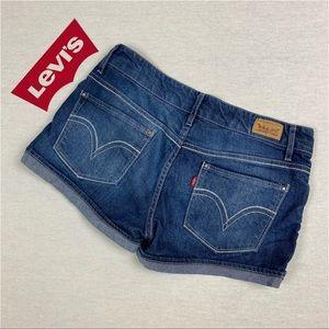 Levi's Shorty Short Denim Jean Shorts